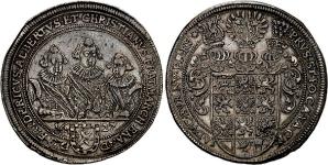 Бранденбург-Ансбах (BRANDENBURG-ANSBACH). Талер 1627 года.