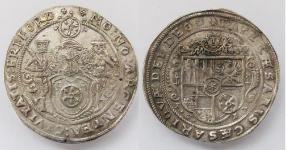Эрфурт (ERFURT). Городской талер 1617 года