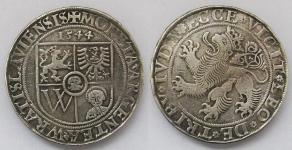 Бреслау (BRESLAU). Талер 1544 года