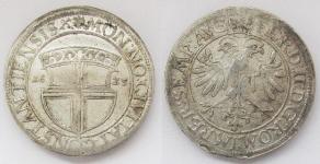 Констанц (CONSTANCE). Городской талер 1625 года