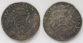 Штольберг (STOLBERG). Талер 1544 года