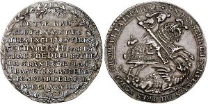Саксония (SAXONY-ALBERTINE-LINE). Талер 1678 года