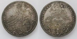Зальцбург (SALZBURG) архиепископство. Талер 1717 года