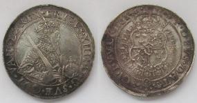 Швеция. Талер 1561 года. Король Эрик XIV
