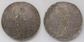 Швеция. Талер 1610 года. Король Карл IX