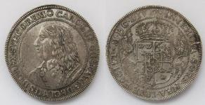 Швеция. Талер 1654 года. Король Карл X
